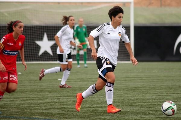 El Valencia CF Femenino se impone al RCD Espanyol 0-4. (Foto-Juan Catalán).