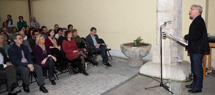 El alcalde de Valencia, Joan Ribó, participó en la presentación del libro.