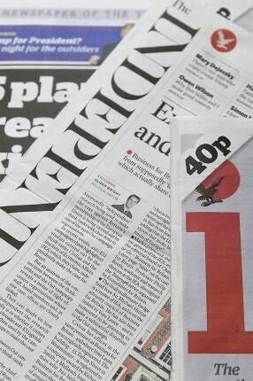El diario The Independent.