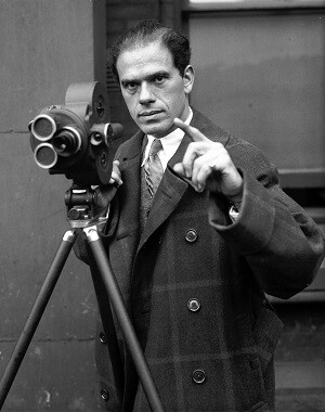 El director Frank Capra.
