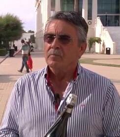El enólogo Vicente García Martínez.