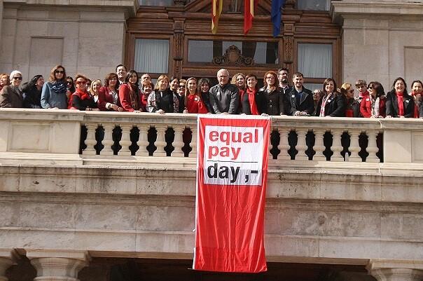 El equipo de Gobierno se suma a la celebración del Día Internacional de la Igualdad Salarial.