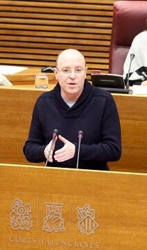 El portavoz adjunto Alberto García de Ciudadanos.