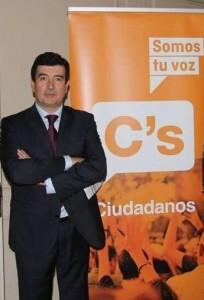 Fernando Giner, portavoz municipal de Ciudadanos.