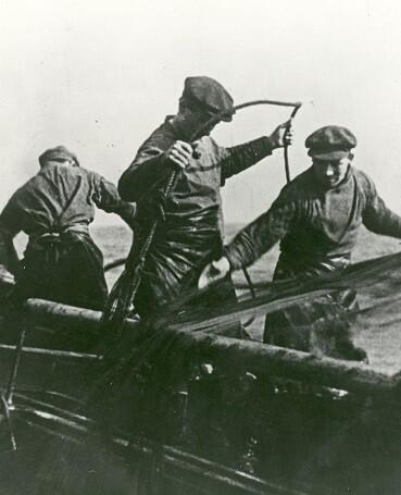Fotograma de 'Drifters' (1929), de John Grierson.