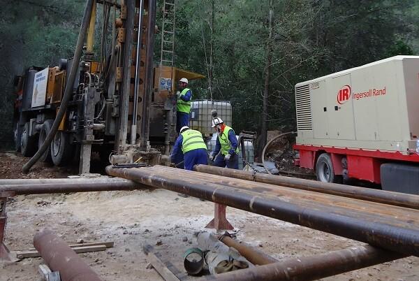 Hidraqua y el Ayuntamiento de Xeraco finalizan el sondeo para buscar nuevas fuentes de suministro en la localidad.