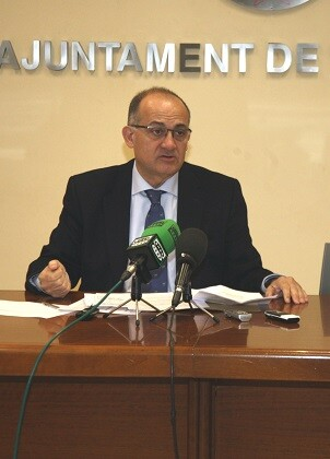 Joan Calabuig, primer teniente de alcalde y concejal de Personas Mayores.
