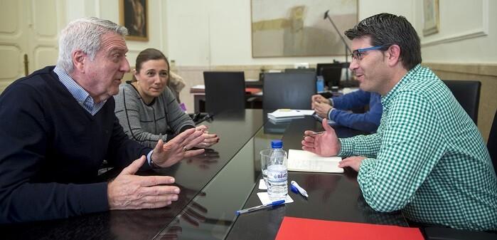 "Jorge Rodríguez valoró la propuesta como ""muy interesante""  (Foto-Abulaila)"