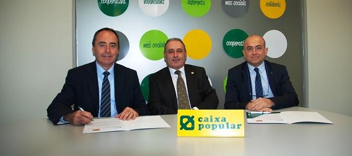 La entidad financiera colaborará con el programa ESTALMAT CV (ASFAMES).