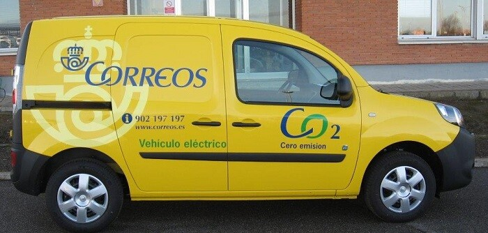 La nueva furgoneta eléctrica.