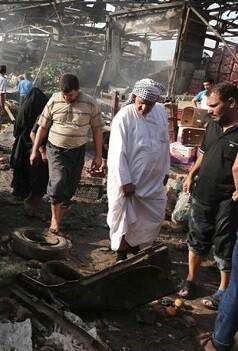 Las detonaciones ocurrieron horas después de que fuerzas de seguridad locales repelieron un ataque de integrantes del Estado Islámico.