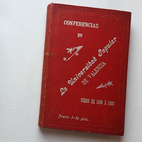 Libro de conferencias de la Universidad Popular.