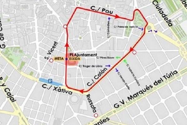 Los ciclistas saldrán a las 10.00 horas desde la plaza del Ayuntamiento hasta la CV-300 por la avenida de la Constitución.