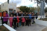 Los niños de El Palmar inauguran el parque Jesuset de l'Horta.