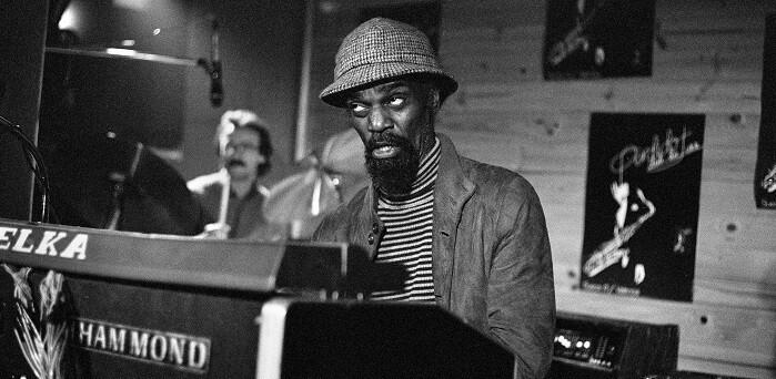 Lou Bennett Trio. Perdido Club de Jazz, 1982. (Foto-Pepe y Rafa Aparisi).