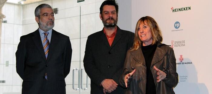 Manuel Chirivella, Carlos Galiana y Montserrat Corominas.
