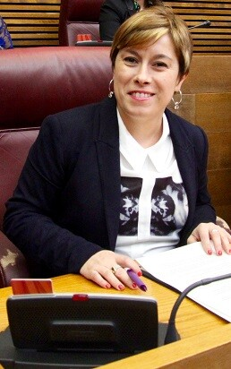 Merche Ventura, diputada de Ciudadanos.