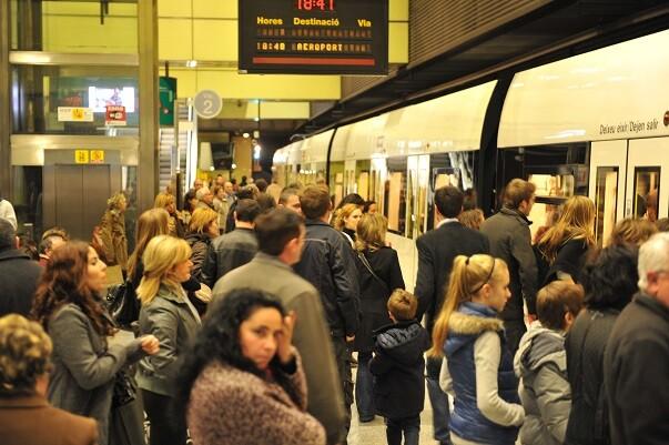Metrovalencia desplazó en enero a 4.802.244 viajeros en el conjunto de todas sus líneas.