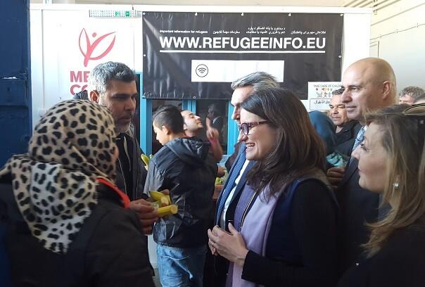 Oltra afirma que la crisis de las personas refugiadas es un reflejo de la 'brecha' que existe entre el norte y el sur de Europa.
