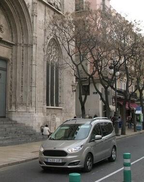 Peatonización del entorno del Mercado Central. (Foto-Manuel Molines).