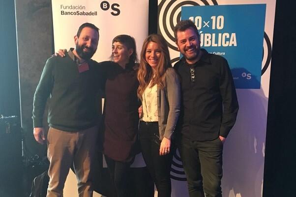 Premio 10x10 Pública para las artes escénicas en Valencia.