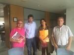 Reunida amb el D.G. de CulturArts negociant el Conveni del Teatre Principal i recopilant idees x al TAC de Catarroja .Twitter