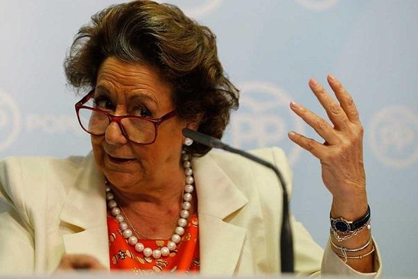 """Rita Barberá declara que no ha """"sabido nada de ningún blanqueo de dinero."""