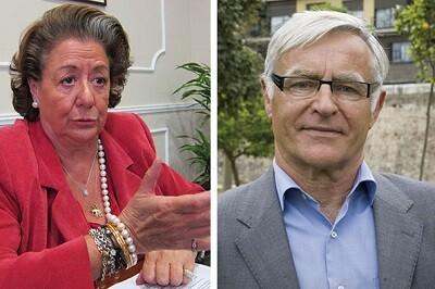 Rita Barberá i Joan Ribó.