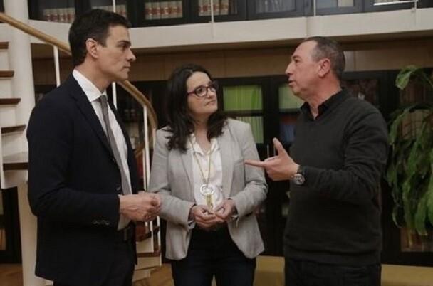 Sánchez acepta la reunión a cuatro de PSOE, Podemos, IU y Compromís.