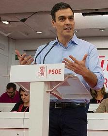 Sánchez pretende sumar fuerzas para investidura. (Imagen de rtve).