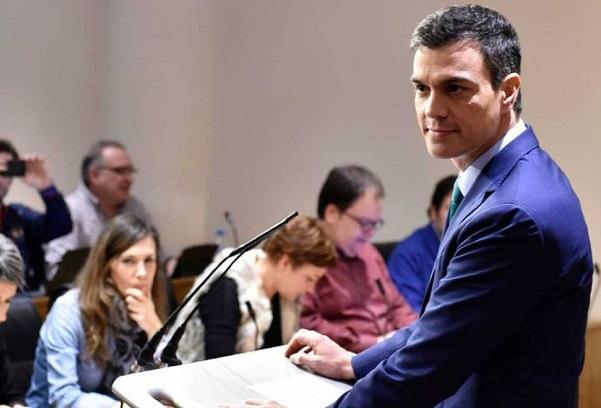 Sánchez quiere contar con Podemos y Ciudadanos y no cierra ninguna posibilidad.
