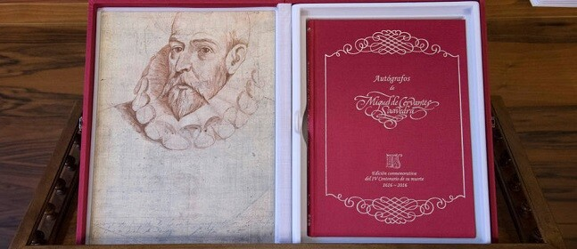 Se mostrará por primera vez los únicos autógrafos que se conservan  del escritor universal.