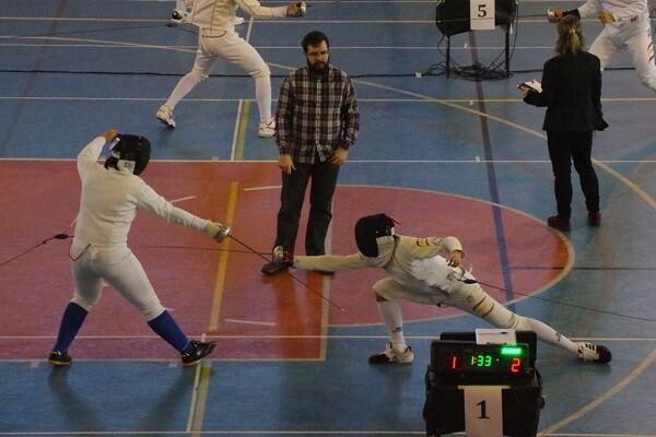 Toni Carles y Fran Valero del Esgrima Marítim al Campeonato de España Junior.