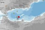 Un terremoto de 5,1 de magnitud en el mar de Alborán alcanza Melilla y la costa andaluza.
