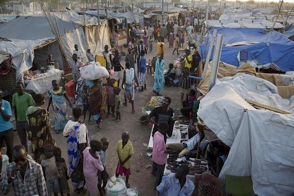 Un  violento ataque a civiles en un campamento de la ONU en Sudán del Sur deja siete muertos.