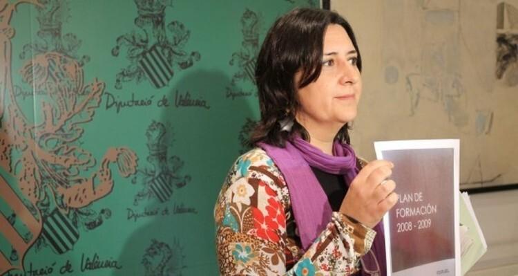 La diputada d'Esquerra Unida, Rosa Pérez Garijo, va aportar les gravacions que van donar inici a la instrucció del cas Imelsa. / ESQUERRA UNIDA