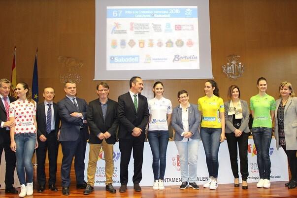 València Turisme patrocina la Volta Ciclista a la Comunitat Valenciana.