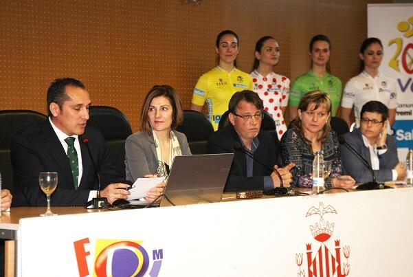 Valencia acoge el circuito urbano donde concluirá la Vuelta a la Comunitat Valenciana.