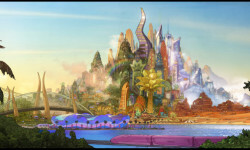 """CONCEPT ART – The modern mammal metropolis of Zootopia is a city like no other. Comprised of habitat neighborhoods like ritzy Sahara Square and frigid Tundratown, it's a melting pot where animals from every environment live together—a place where no matter what you are, from the biggest elephant to the smallest shrew, you can be anything. But when optimistic Officer Judy Hopps arrives, she discovers that being the first bunny on a police force of big, tough animals isn't so easy. Determined to prove herself, she jumps at the opportunity to crack a case, even if it means partnering with a fast-talking, scam-artist fox, Nick Wilde, to solve the mystery. Walt Disney Animation Studios' """"Zootopia,"""" a comedy-adventure directed by Byron Howard (""""Tangled,"""" """"Bolt"""") and Rich Moore (""""Wreck-It Ralph,"""" """"The Simpsons"""") and co-directed by Jared Bush (""""Penn Zero: Part-Time Hero""""), opens in theaters on March 4, 2016.  ©2015 Disney. All Rights Reserved."""