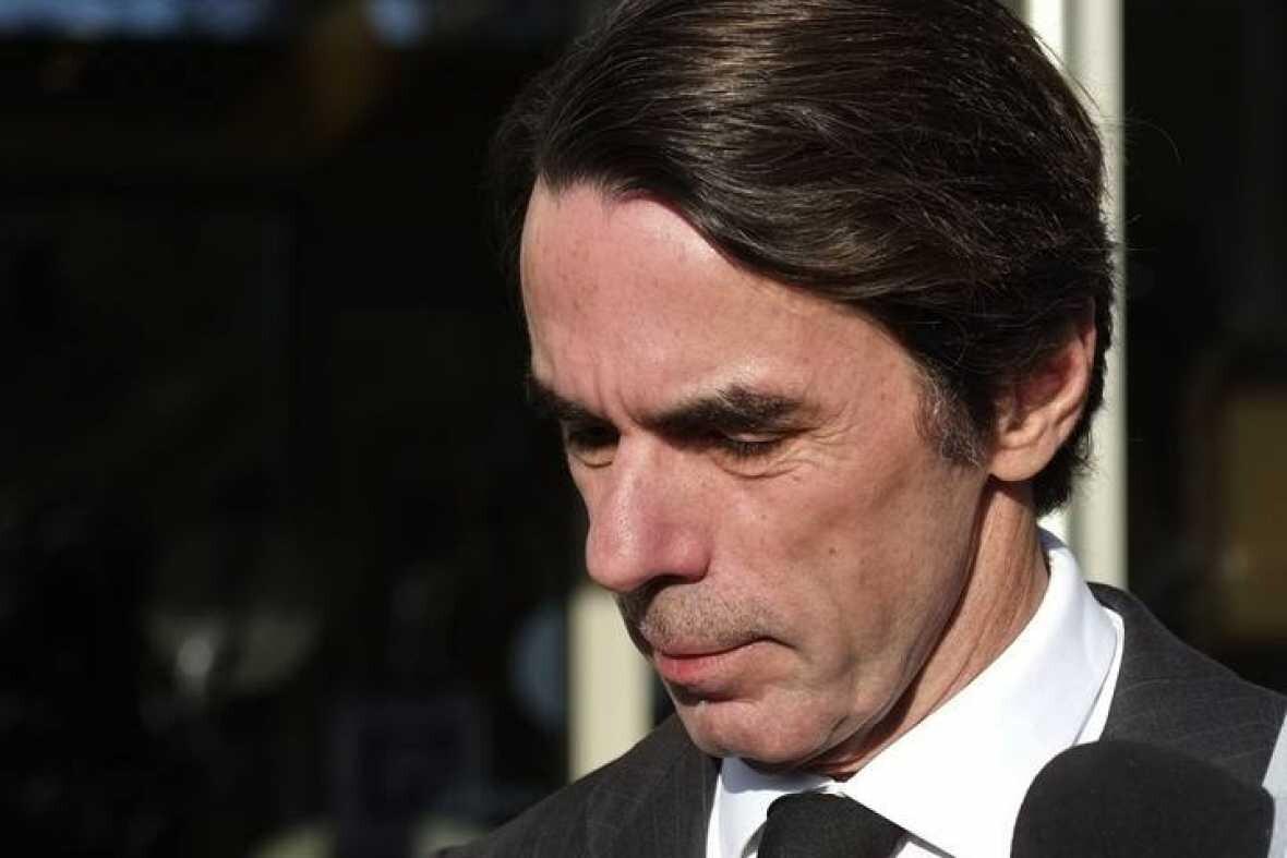 José María Aznar. AFP  AFP