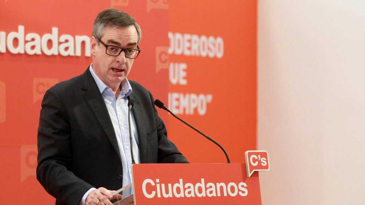 El vicesecretario general de Ciudadanos, José Manuel Villegas EFE/VÍCTOR LERENA