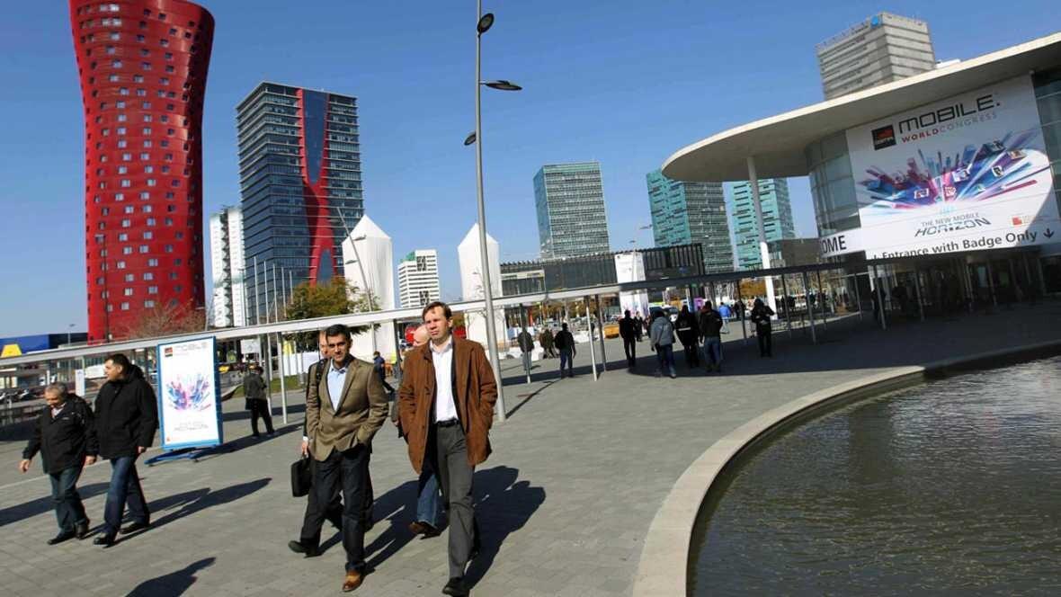 El MWC de Barcelona es el congreso de móviles más importante del mundo. EFE