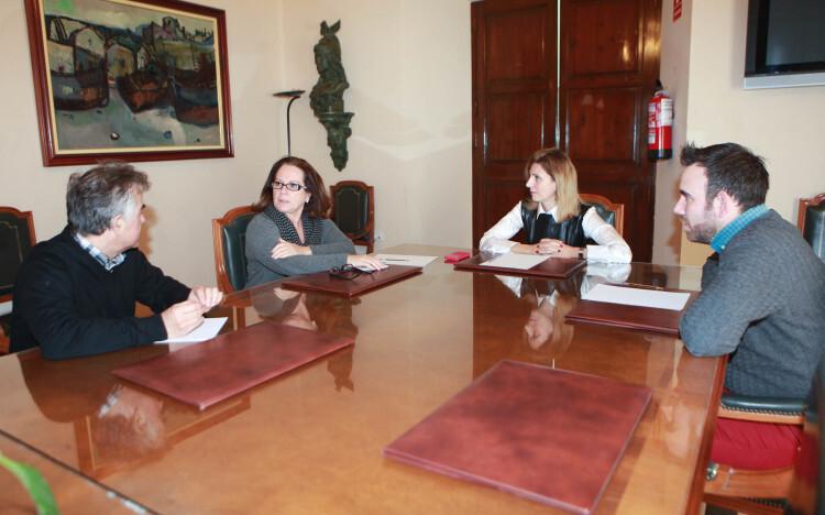 reunión Directora Territorial Salud