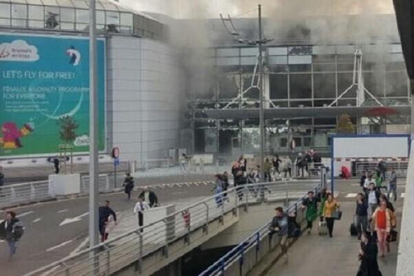 13 muertos y decenas de heridos en una serie de explosiones en Bruselas.