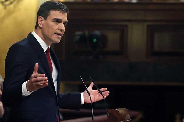 219 votos en contra hacen caer la primera investidura de Pedro Sánchez.