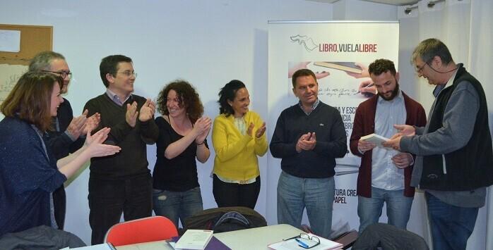 3 La imaginación de Jesús Gómez también fue aplaudida por los integrantes de los talleres de escritura creativa de Libro, vuela libre