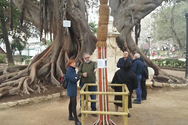 350 árboles monumentales de la ciudad lucen placas identificativas.