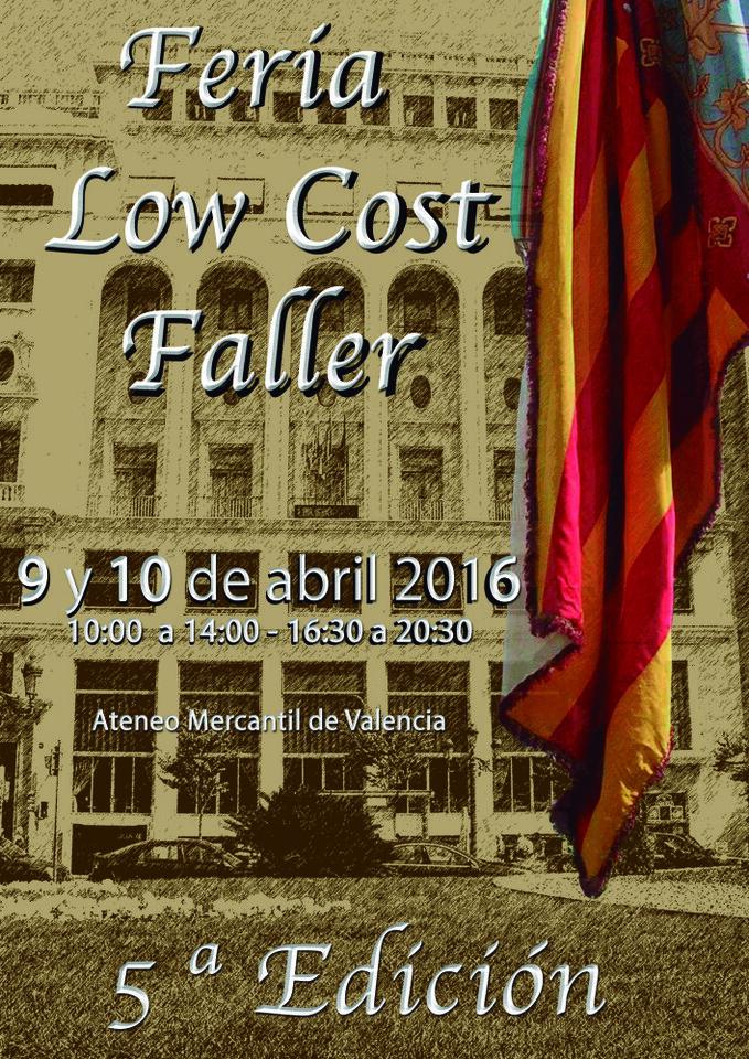 5ª edicion Feria Low Cost fallera en el Ateneo Mercantil de Valencia (1)