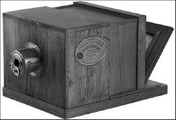 Cámara del daguerrotipo