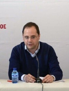 César Luena, secretario de Organización del PSOE.